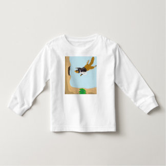 Squirrely The Pilot Toddler T-shirt