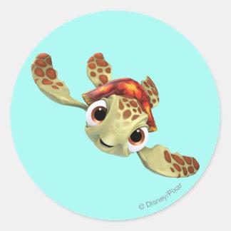 Squirt 1 classic round sticker