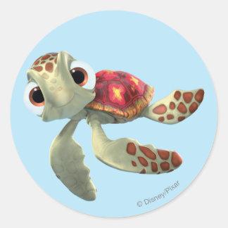 Squirt 3 classic round sticker