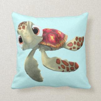 Squirt 3 throw pillow
