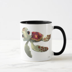 Combo Mug with Cute baby sea turtle Squirt of Finding Nemo design
