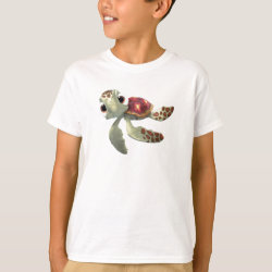 Cute baby sea turtle Squirt of Finding Nemo Kids' Hanes TAGLESS® T-Shirt