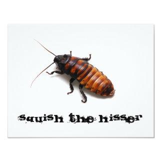 Squish the Hisser Card