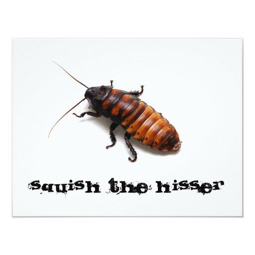 Squish the Hisser Invite