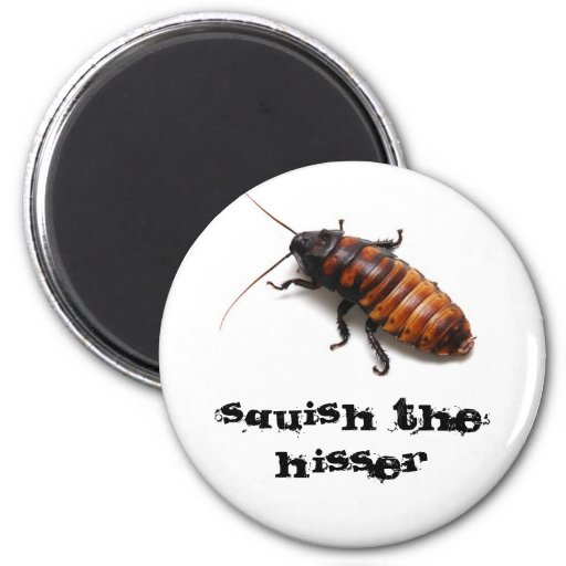 Squish the Hisser Magnets