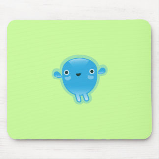 Squishies Blue Woot Mousepad