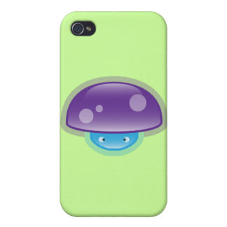 Squishies Purple Mushy iPhone 4 Case