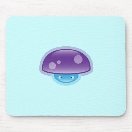 Squishies Purple Mushy Mousepad