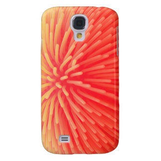 Squishy Ball Toy Abstract Red Orange Glow Galaxy S4 Case