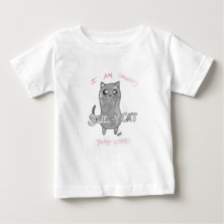 Squishy Cat- I am so happy you're home! Baby T-Shirt
