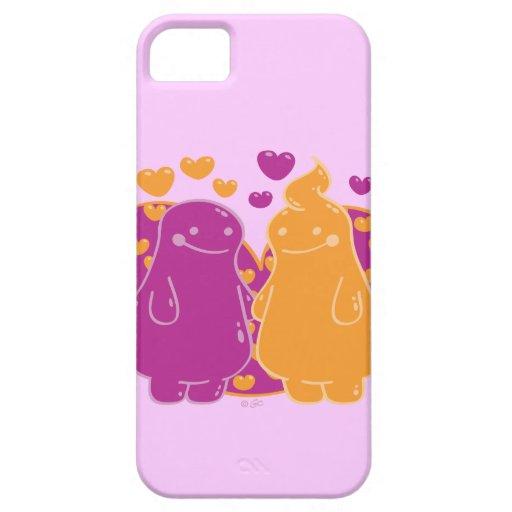 Squishy Kinda Luv iPhone 5 Cover