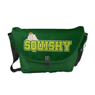 Squishy Name Messenger Bag