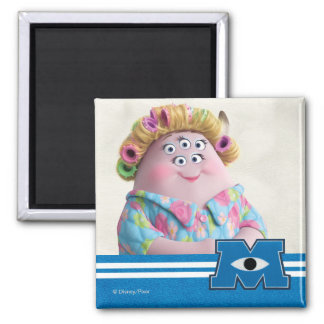 Squishy's Mom 1 2 Inch Square Magnet