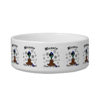 Squite Beauty is one of a kind with snowflakes Bowl