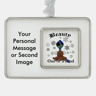 Squite Beauty is one of a kind with snowflakes Christmas Ornament