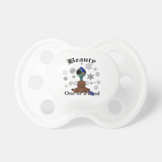 Squite Beauty is one of a kind with snowflakes Pacifier
