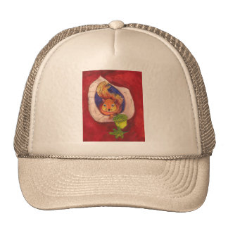 squrriel trucker hat
