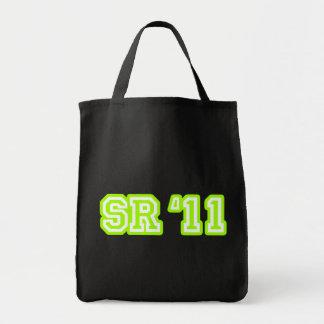 SR11 LIME TOTE BAG