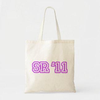 SR11 PURPLE TOTE BAG