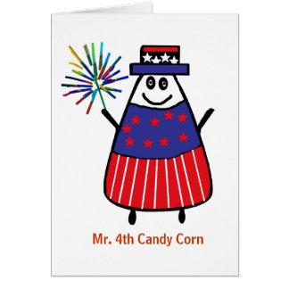 Sr. 4tas pastillas de caramelo tarjeta de felicitación