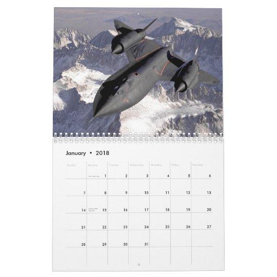SR-71 Blackbird Calendar