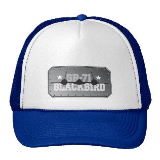 SR-71 Blackbird Trucker Hats