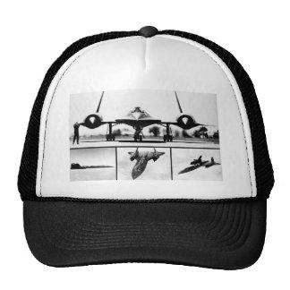 SR-71 BLACKBIRD MESH HATS