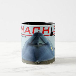 SR-71 Blackbird MACH Mug