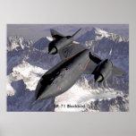 sr-71-blackbird, mirlo SR-71 Posters