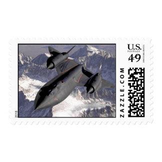 SR 71 Blackbird Postage