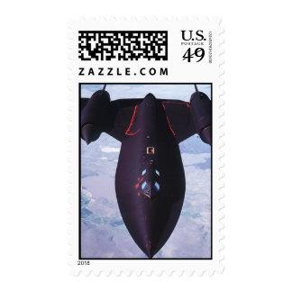 SR-71 Blackbird Postage Stamp