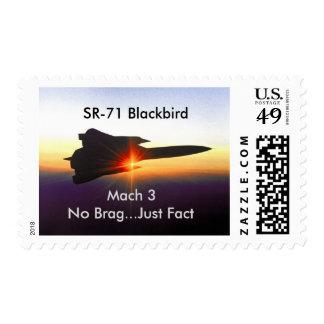 SR-71 Blackbird Postage Stamps