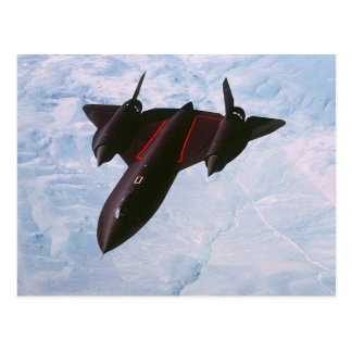 SR-71 Blackbird Postcard