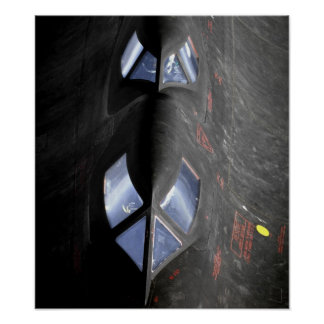SR 71 Blackbird Poster