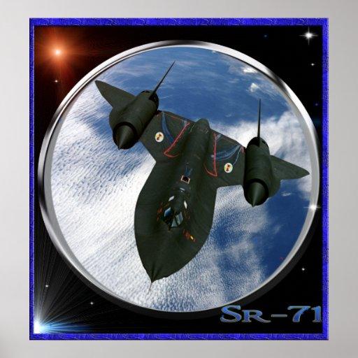 Sr-71 military spy plane posters
