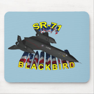 SR-71A Blackbird from the 1st SRS Mouse Pad