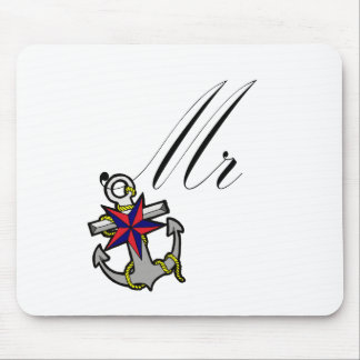 Sr. Anchor Mouse Pad