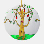 Sr. Appletree Christmas Ornament Adorno De Navidad