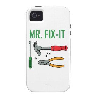 Sr. Arreglo-Él Vibe iPhone 4 Funda