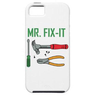 Sr. Arreglo-Él iPhone 5 Fundas