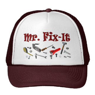 Sr. arreglo-él gorras