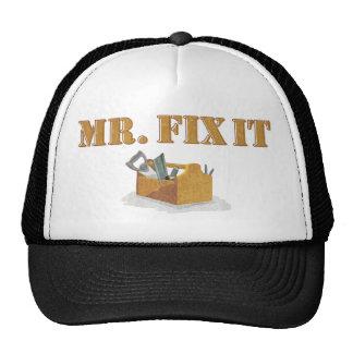 Sr. Arreglo-Él Hat Gorro