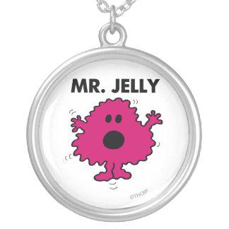 Sr. asustado y nervioso Jelly Colgante Redondo