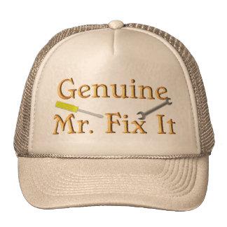 Sr. auténtico Fix It Gorros