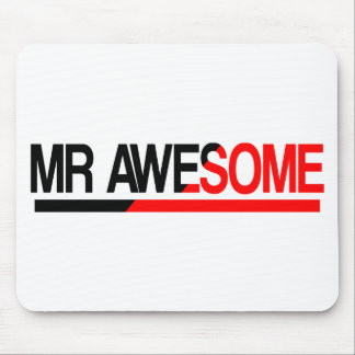 Sr. Awesome Alfombrillas De Ratón