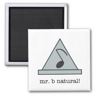 ¡Sr. b natural! imán