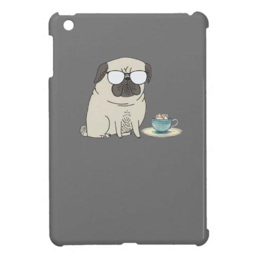 Sr. barro amasado del tiempo del té iPad mini cárcasa