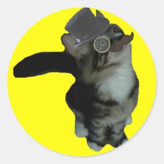 Sr. Biffles Stickers - amarillo