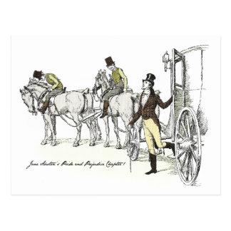 Sr. Bingley llega el parque de Netherfield Postales