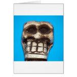 Sr. Bones Friendly Skeleton Felicitacion